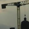 Lenin Denkmal wird abgeholt?