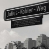 Julius Kobler Weg. In Hamburg.