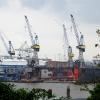 Hafen. Hamburg.