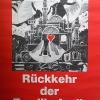 Plakat Rückkehr der Familie Arzik, 1982