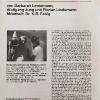 Aus früheren Zeiten. Auf dem Foto: Wolfgang Jung und Barbarah Lindemann.