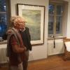 Wolfgang Jung mit dem Maler Cesare Mirabella, über den wir den Film gedreht haben, Nov. 2019.