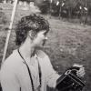 Lilly Grote mit der Bolex, 1978