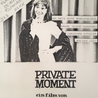 PRIVATE MOMENT - FILMPLAKAT