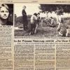 Dreharbeiten DAS BLAUE FEUER 3 Zeitung