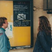 dffb in Leipzig 1990: Schaukasten