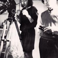 Dreharbeiten Grundkurs 1983 Kamera 5