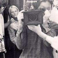 Dreharbeiten Grundkurs 1983 Kamera 3