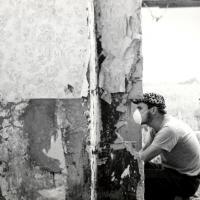 Dreharbeiten Maren-Kea Freese - Kamera-Assi fotografiert